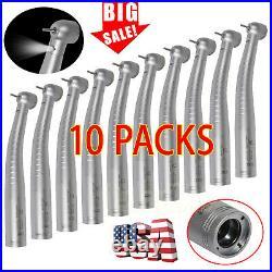 10 KaVo Style Dental Fiber Optic High Speed LED Turbine Handpiece 4/6-Hole YD6