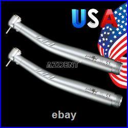 10 X NSK Style PANA MAX Dental E-Generator LED 3 Way High Speed Handpiece 2Holes