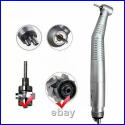 10Handstück Dental High Speed LED Fiber Optic Handpiece Turbine 4Loch
