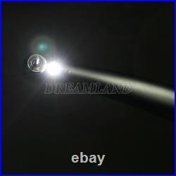 10PCS Dental LED Fiber Optic High Speed Handpieces E-generator 4Hole Yabangbang