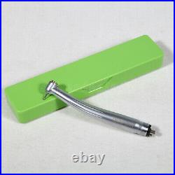 10USA SANDENT NSK Style Dental High/Fast Speed Handpiece Push Button 4 Hole M4