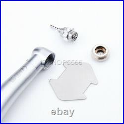 10x Dental High Speed Air Turbine Push Button Handpiece LED PANA MAX PAX-SU M4