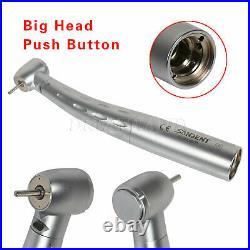 3X SANDENT Dental LED Fiber Optic Handpiece Big Turbine Ceramic fit GD6