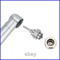 5 Kits NSK Style Dental LED E-generator 3 Spray High Speed Push Button Handpiece