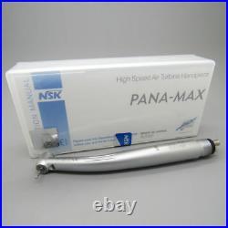 5 X Dental LED Fiber Optic High Speed Handpiece Push Button Egenerator 4 Hole