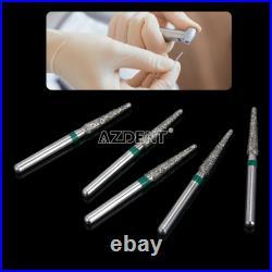 500 Packs 2500 PCs Dental Diamond Burs Drill for High Speed Handpiece 150 Types
