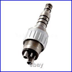 5USA KAVO Style Dental High Speed Turbine Handpiece 4-Hole Coupler Big Head YBB