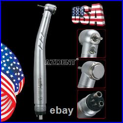 5pcs NSK PANA MAX Style Dental E-Generator LED High Speed 3 Way Handpiece 4 Hole