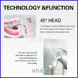 AZDENT Dental Handpiece 45°Electric Contra Angle Fiber Optic 14.2 Increasing