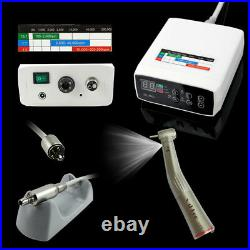 CICADA NSK E-TYPE Electric Dental Motor +15 Handpiece Fiber Optic Contra Angle