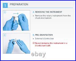 Dental Air Driven Handpiece Black Pearl Eco by Bien Air Basic Line