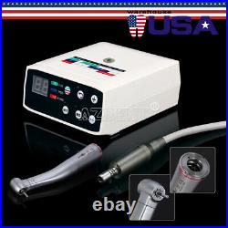 Dental Brushless Electric Motor Micromotor + 15 Speed Increasing High Handpiece