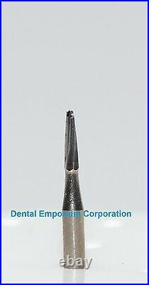 Dental Carbide Burs FG #1170 Domed Taper Fissure Cut High Speed HP 100 Package