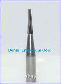 Dental Carbide Burs FG # 169 Tapered Fissure for High Speed Handpiece 100/pk
