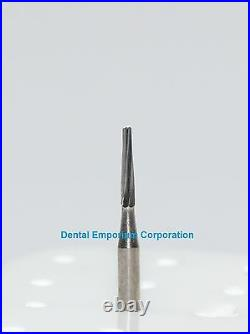 Dental Carbide Burs FG # 170L Tapered Fissure for High Speed HP 100 Package