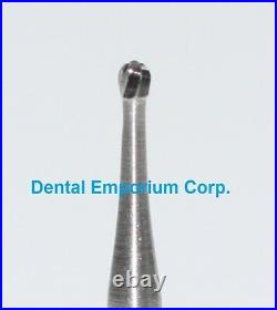 Dental Carbide Burs FG No. 2 Round for High Speed Handpiece in bulk 100/pk