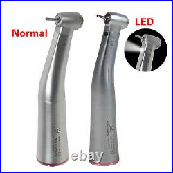 Dental Electric 15 (LED Fiber Optic) Contra Angle Handpiece Red Ring f/NSK KAVO