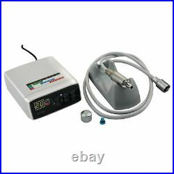 Dental Electric Micro Motor + 11 + 15 161 Fiber Optic Handpiece Contra Angle