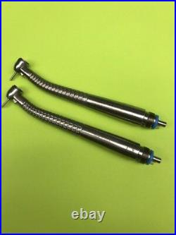 Dental Handpiece / 2 MIDWEST TRADITION PUSH BUTTON HIGH SPEED HP Fiber Optic 30%