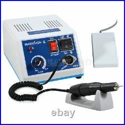 Dental Lab MARATHON MICROMOTOR Electric 35K RPM Handpiece Polisher Set LMM