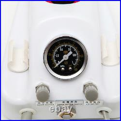 Dental Portable 4 Hole Air Turbine Unit with Low & High Speed Handpiece Kit+Burs