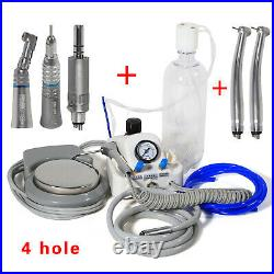 Dental Portable Turbine Unit 4 Hole with NSK Style High Low Speed Handpiece UK