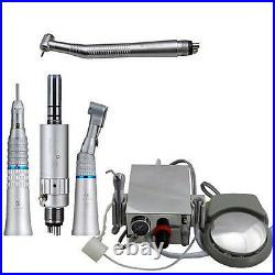 Dental Turbine Unit Work f/ Compressor Kompressor 4Hole High&Low Speed Handpiece