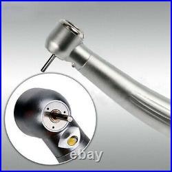 LED Handpiece E-Generator Fast High Speed Dental Handpiece 4 Holes Air Turbine