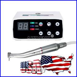NSK Style Dental Brushless LED Micro Motor + 15 Contra Angle Handpiece