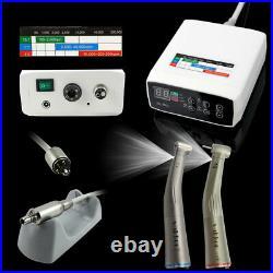 NSK Type Dental Electric Motor + 11 + 15 Fiber Optic Handpiece Contra Angle