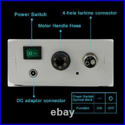 NSK Type LED Dental Internal Mirco Motor + 15 High Speed Handpiece Contra Angle