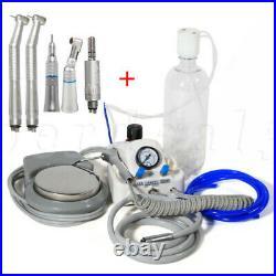 Yabangbang Dental High Low Speed Handpiece Kit / Portable Turbine Unit 4Hole