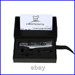 Yabangbang Dental LED 15 Fiber Optic Contra Angle Handpiece fit NSK Red Ring OR